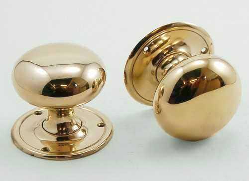 dunedin round door knobs