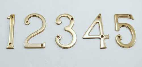 Victorian Numbers and Letters