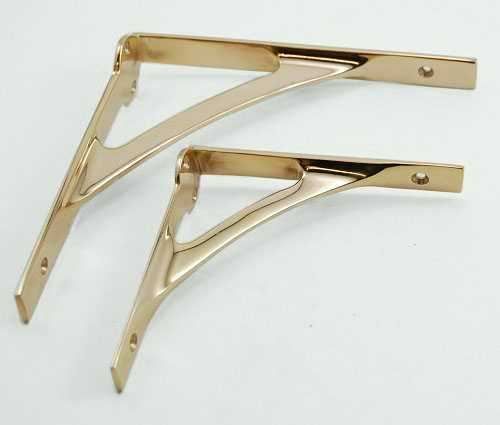 Shelf Brackets, for Wooden Shelves